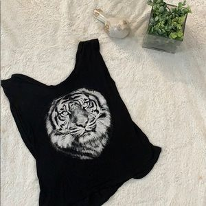 3/$20 Black Tiger Muscle Tee